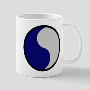 Blue and Gray Mug