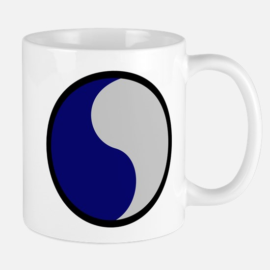 Blue and Gray Mug