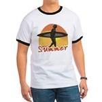 Summer Surfer Ringer T