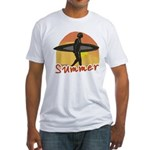 Summer Surfer Fitted T-Shirt