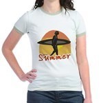 Summer Surfer Jr. Ringer T-Shirt