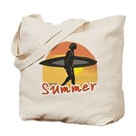 Summer Surfer Tote Bag