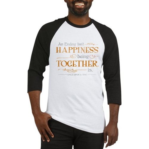 Ending Isn't Happiness Baseball Jersey