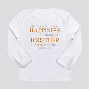 Ending Isn't Happiness Long Sleeve Infant T-Shirt