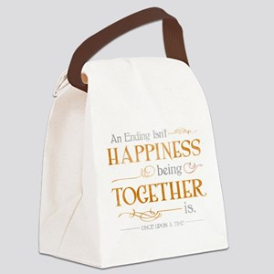 Ending Isn't Happiness Canvas Lunch Bag