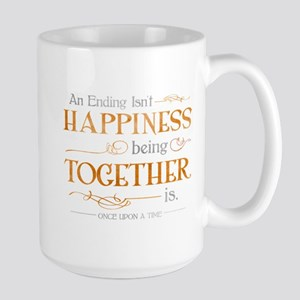 Ending Isn't Happiness Large Mug
