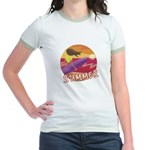 Female Surf Jr. Ringer T-Shirt
