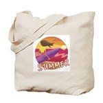 Female Surf Tote Bag