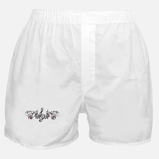 Theater and Music Boxer Shorts