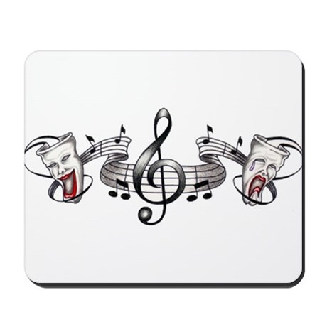 Theater and Music Mousepad