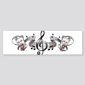 Theater and Music Bumper Sticker