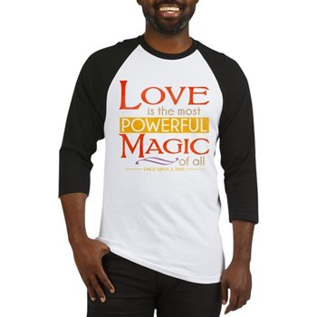 Love is the Most Powerful Magic Baseball Jersey