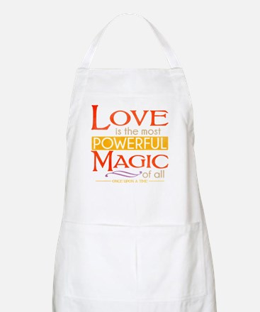 Love is the Most Powerful Magic Apron