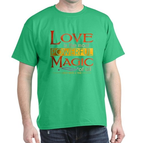 Love is the Most Powerful Magic Dark T-Shirt