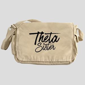 Kappa Alpha Theta Sister Messenger Bag