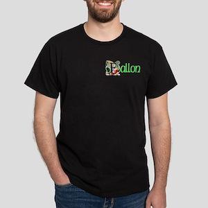 Fallon Green Celtic Dragon 2 Dark T-Shirt