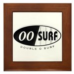 Double 'O' Surf Framed Tile