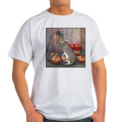 Lil Brown Rabbit Ash Grey T-Shirt