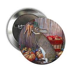 Lil Brown Rabbit Button
