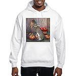 Lil Brown Rabbit Hooded Sweatshirt