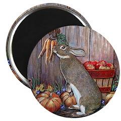 Lil Brown Rabbit Magnet