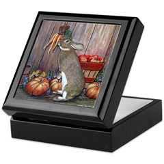 Lil Brown Rabbit Keepsake Box
