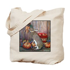 Lil Brown Rabbit Tote Bag