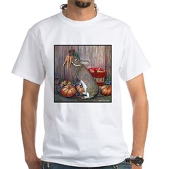 Lil Brown Rabbit White T-Shirt