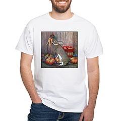 Lil Brown Rabbit White T-Shirt