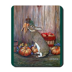 Lil Brown Rabbit Mousepad