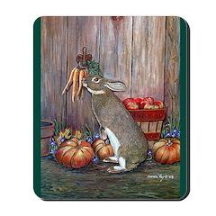 Lil Brown Rabbit Mousepad