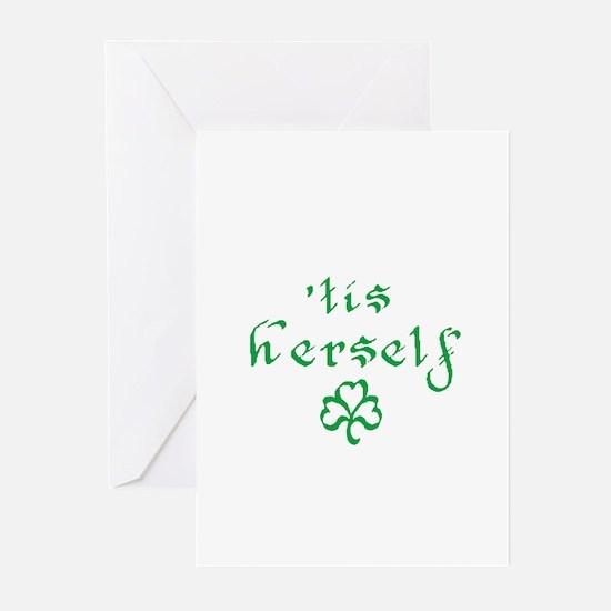 'tis herself Greeting Cards (Pk of 10)