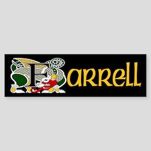 Farrell Celtic Dragon Bumper Sticker