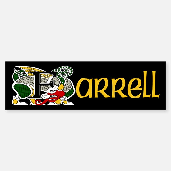 Farrell Celtic Dragon Bumper Bumper Bumper Sticker