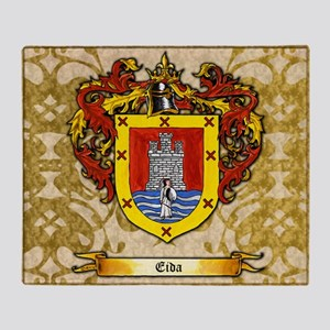Eida Coat of Arms Throw Blanket