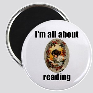 I'm All About Reading! Magnet