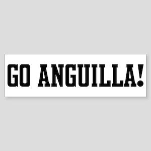 Go Anguilla! Bumper Sticker