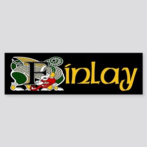 Finlay Celtic Dragon Bumper Sticker