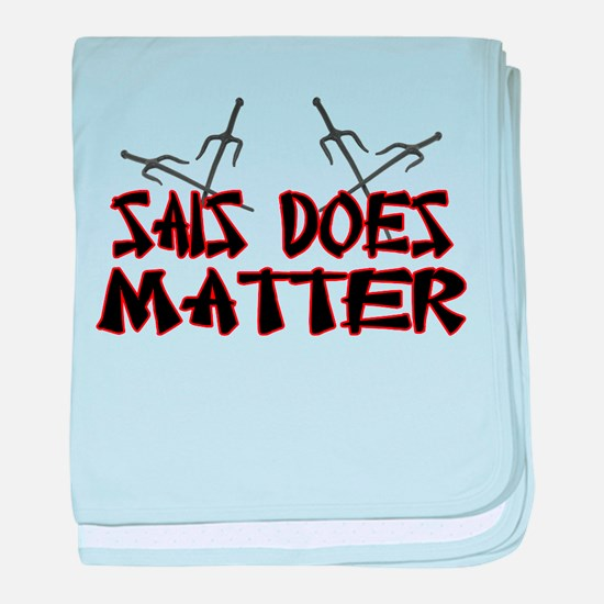 Sais Does Matter baby blanket