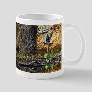 Wood Duck in Flight Mugs