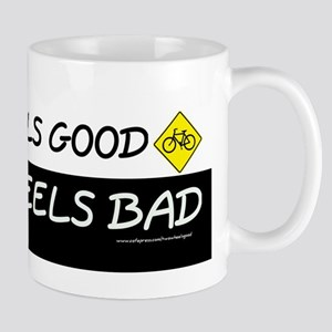 """Two Wheels Good"" Mug"