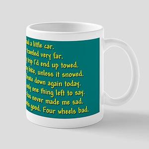 Funny Bicycle Commute Mug