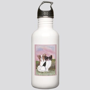 Two Papillons Stainless Water Bottle 1.0L
