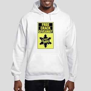 5 o'clock free crack giveaway Hooded Sweatshirt