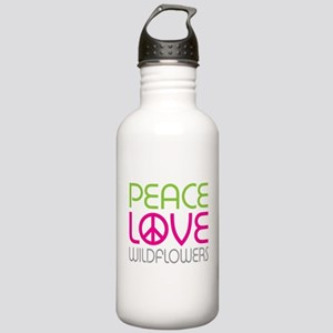 Peace Love Wildflowers Stainless Water Bottle 1.0L