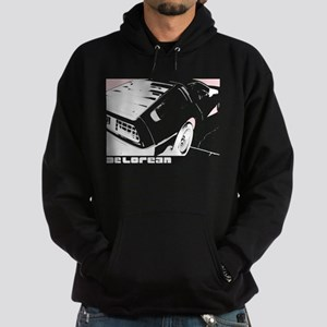DeLorean 80's Hoodie (dark)