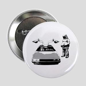"""DeLorean 2.25"""" Button"""