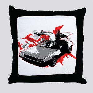 DeLorean Throw Pillow