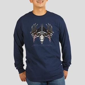 Free men hunt Long Sleeve Dark T-Shirt