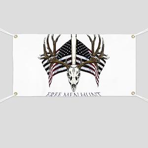 Free men hunt Banner